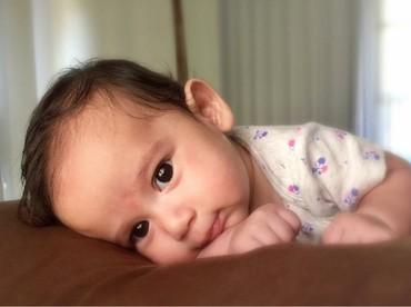 Carleteana Eleanore Waworuntu merupakan anak dari aktris Alexandra Gottardo dan Arief Utama Waworuntu. (Foto: Instagram/carleteana)