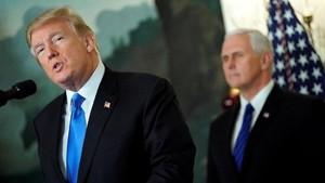 Trump Sindir Clinton, Bush dan Obama Soal Yerusalem