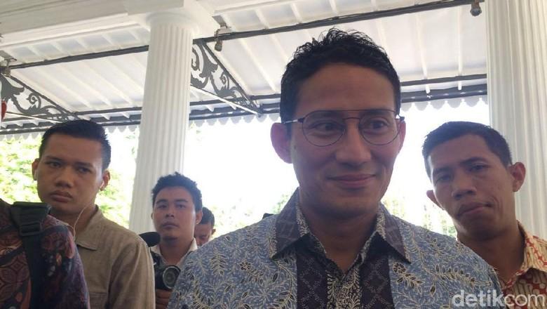 Anas Effendi Ketiduran, Sandi: Kasihan, Pasti Lelah Kerja 24 Jam