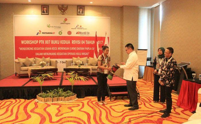 Workshop SKK Migas dan Kontraktor Kontrak Kerja Sama (KKKS) wilayah Papua Maluku (Foto: Dok. Petrogas)