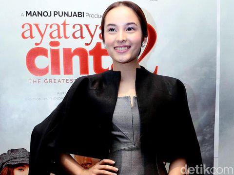 Chelsea Islan saat ditemui di Plaza Indonesia.