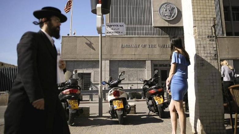 Melihat Kedubes AS di Tel Aviv yang akan Dipindah ke Yerusalem