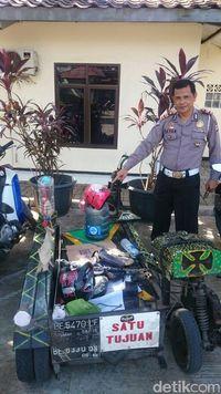 Seratusan Motor Modifikasi di Bogor 'Disemprit' Polisi