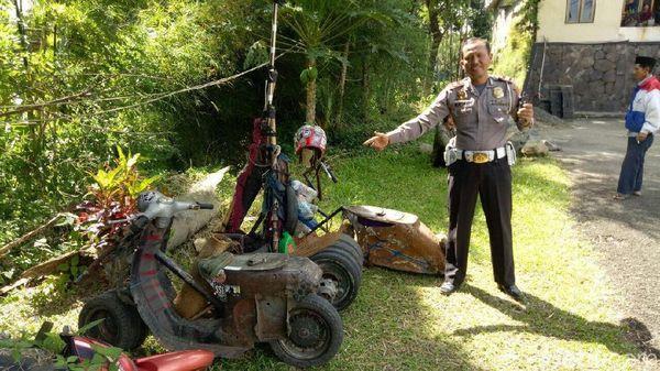 Seratusan Motor Modifikasi Disemprit Polisi di Bogor