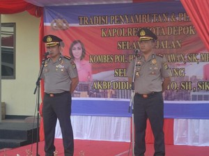 Jabat Kapolresta Depok, AKBP Didik Siap Lanjutkan Program HaloPolisi