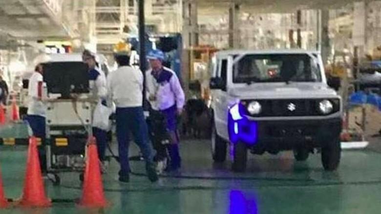 Bocor! Suzuki Produksi Jimny Terbaru, Ini Bocorannya Foto: Pool (drivespark)