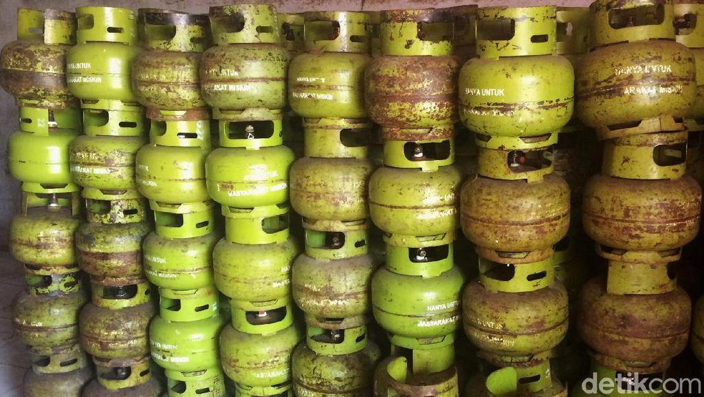 Pertamina Tarik 46 Elpiji 3 Kg dari Rumah Makan di Temanggung