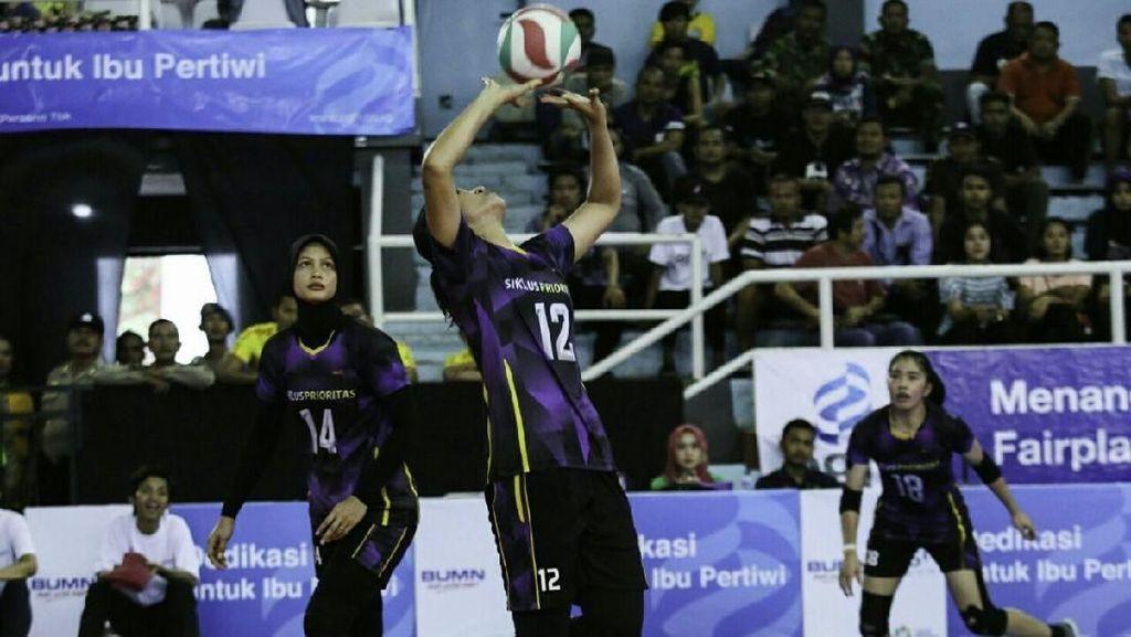 Putri Bank Jatim Jumpa Popsivo di Final Livoli