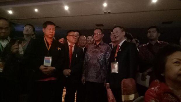 Hadiri HUT PSMTI, Anies: Etnis Tionghoa Bagian Sejarah Nusantara