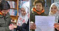 Jalani Prosesi Pernikahan di Perpustakaan Korea, Pasangan Ini Jadi Viral