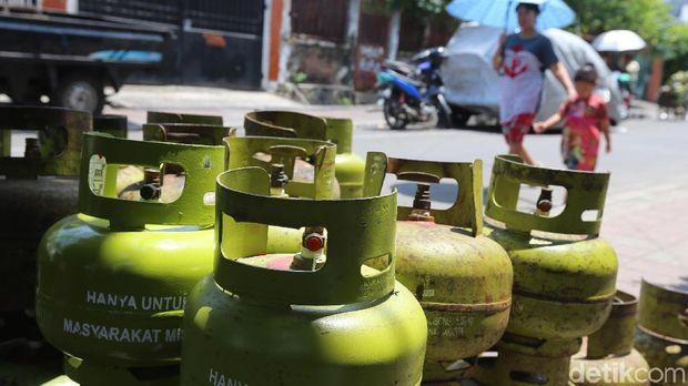 Ilustrasi gas 3 kg