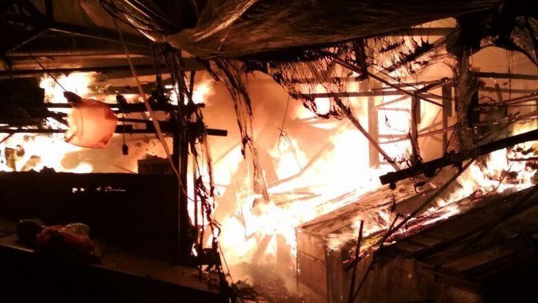 Berhasil Padam, Api di Pasar Gembrong Lama Diduga karena Korsleting