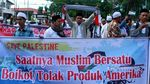 Potret Aksi Protes Trump Soal Yerusalem di Penjuru Indonesia