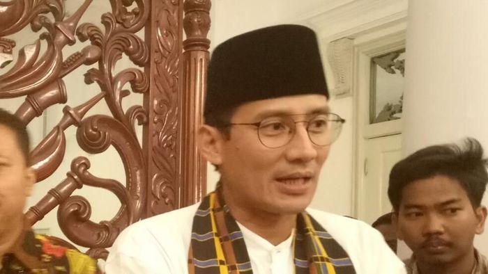 Foto: Wakil Gubernur DKI Jakarta Sandiaga Uno (Fida/detikcom)