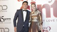 Chelsea Islan dan Daffa Wardhana menghadiri galar premier Ayat-Ayat Cinta 2 di kawasan Kuningan, Jakarta Selatan, Kamis (7/12/2017) malam. Foto: Chelsea Islan dan Daffa Wardhana (Palevi/detikHOT)
