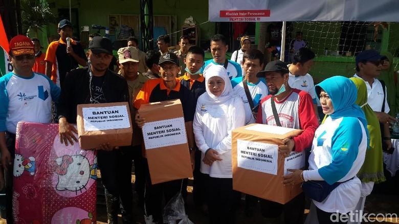 Kemensos Fokus Atasi Logistik dan Pengungsi Bencana Pacitan