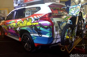 Mitsubishi Hadirkan Mobil Pecinta Offroad dan MotorCross