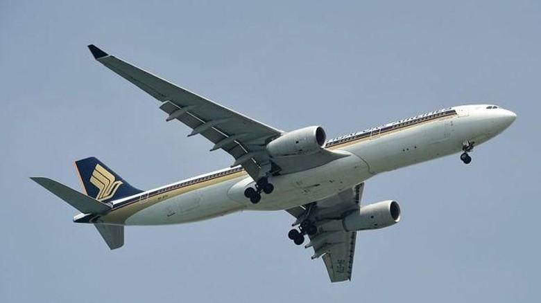 Foto: Ilustrasi maskapai Singapore Airlines (AFP/Getty Images)