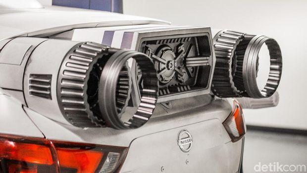 Nissan Rogue Sport – A-wing