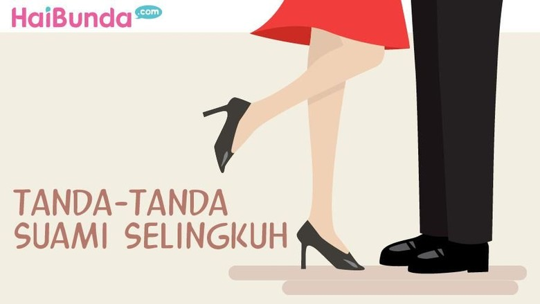 Tanda-tanda suami selingkuh (Foto: Infografis/ Mindra Purnomo)