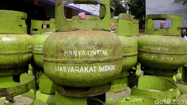 Gas elpiji 3 nkg untuk masyarakat kurang mampu