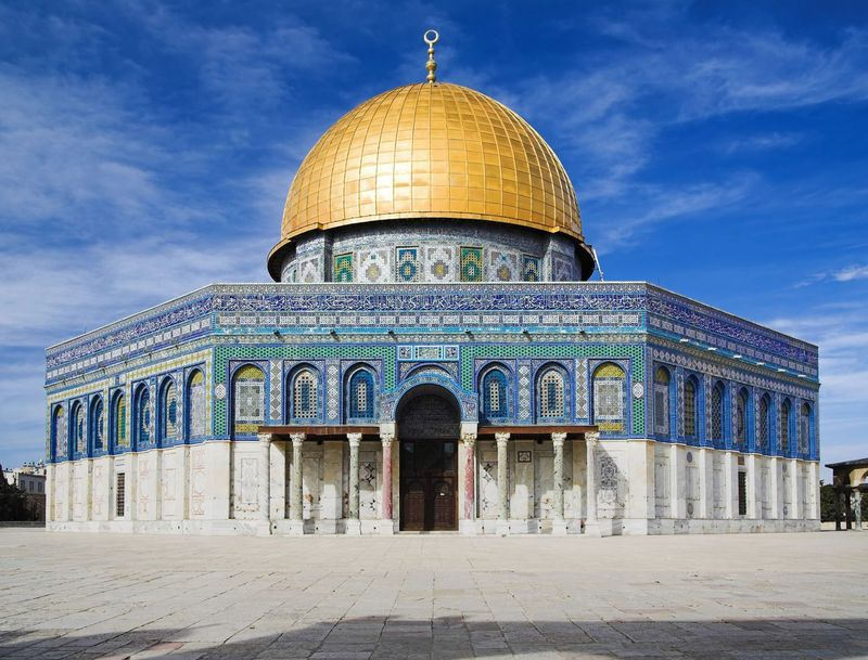 Dome of The Rock berada dalam satu kompleks Al-Haram Asy-Syarif. Kaum Yahudi biasa menyebutnya Temple Mount (Gunung Kuil) (Thinkstock)