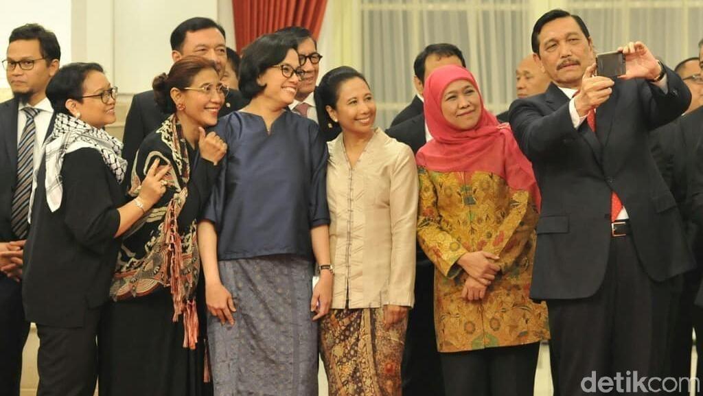 Menteri-menteri Jokowi Dapat Penghargaan Internasional