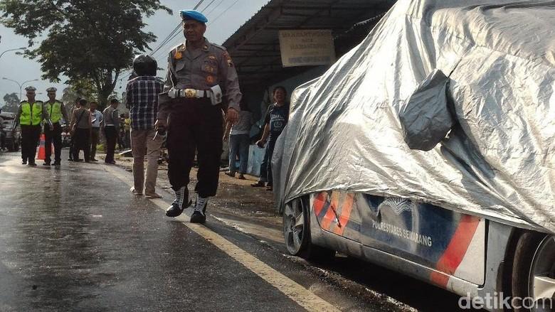 Ini Penyebab Mobil Patwal Polisi Tabrak Warung dan Rumah di Boyolali