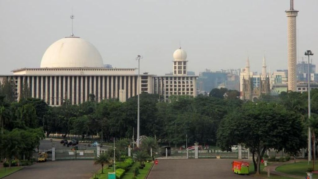Viral Pagar Masjid Istiqlal Diblokir, Begini Penjelasan Pengurus