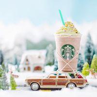 Wow! Ini Dia Frappuccino Bertema Pohon Natal yang Baru dari Starbucks