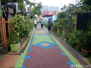 Foto: Lorong Ramah Anak & Bebas KDRT di Makassar