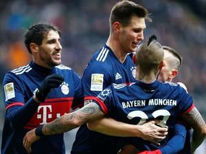 Bayern Menang Tipis 1-0 atas Eintracht Frankfurt
