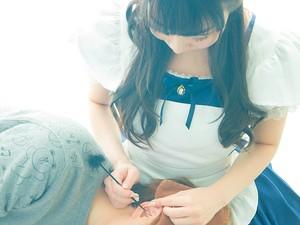 Foto: Gadis Cantik Pembersih Telinga di Jepang