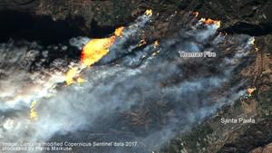 Kebakaran Hutan di California: Jilatan Api Terlihat dari Angkasa