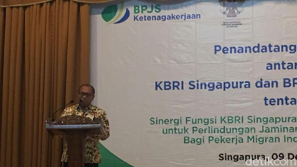 BPJS Ketenagakerjaan dan KBRI Singapura Kerja Sama Lindungi Pekerja RI