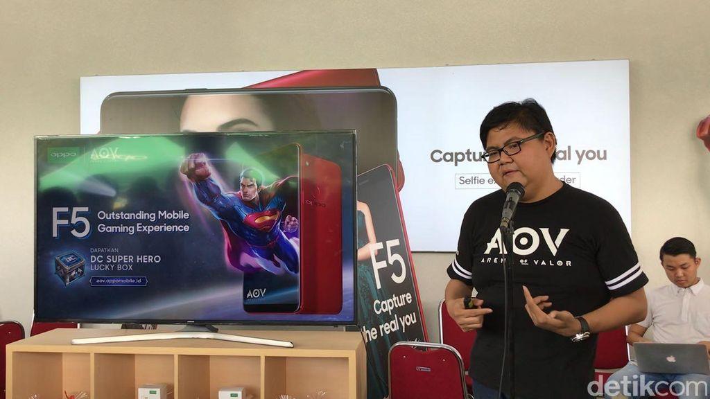Kompetisi game AoV ditangani langsung oleh Garena. Foto: detikINET/Adi Fida Rahman