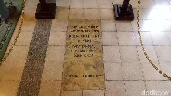 Jenderal Ahmad Yani merupakan salah satu yang tewas setelah ditembak langsung di rumahnya. Selepas sang Jenderal, rumah itu beralih fungsi jadi museum dan masih kerap didatangi oleh keluarganya (Seysha Desnikia/detikcom)