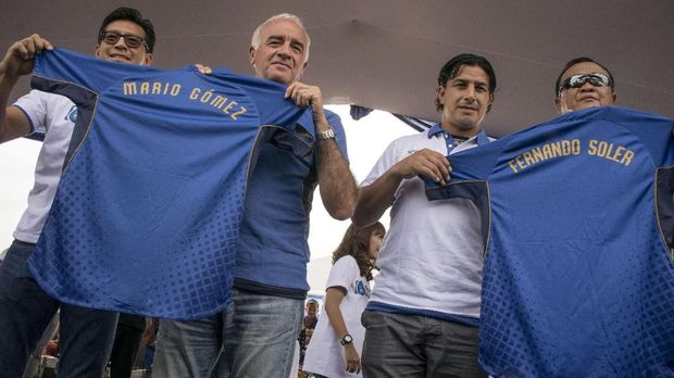 Mario Gomez menginginkan uji coba melawan tim bagus jelang kembali tampil di Liga 1 2018.