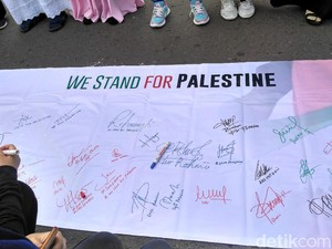 Dunia Bersatu Membela Palestina