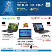 Beli Laptop di Transmart dan Carrefour Dapat Bonus Tas