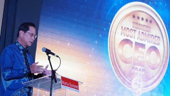 Presiden Direktur PT Bank Central Asia Tbk (BCA) Jahja Setiaatmadja/Foto: Pool/BCA