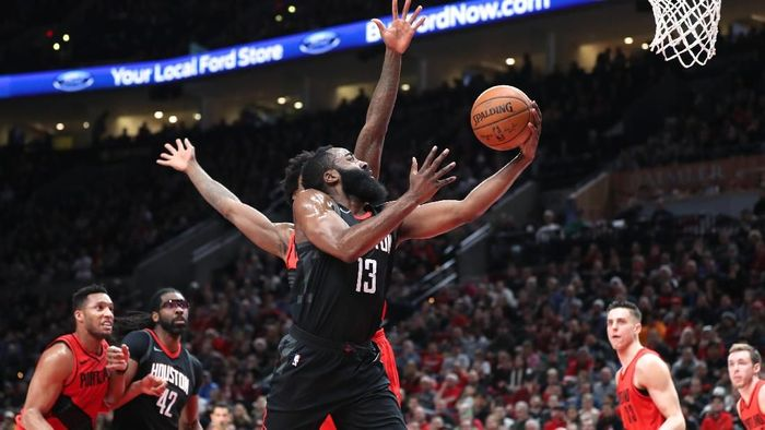 James Harden mencetak 48 poin, Houston Rockets perpanjang rentetan kemenangan di NBA (Foto: Jaime Valdez-USA TODAY Sports)