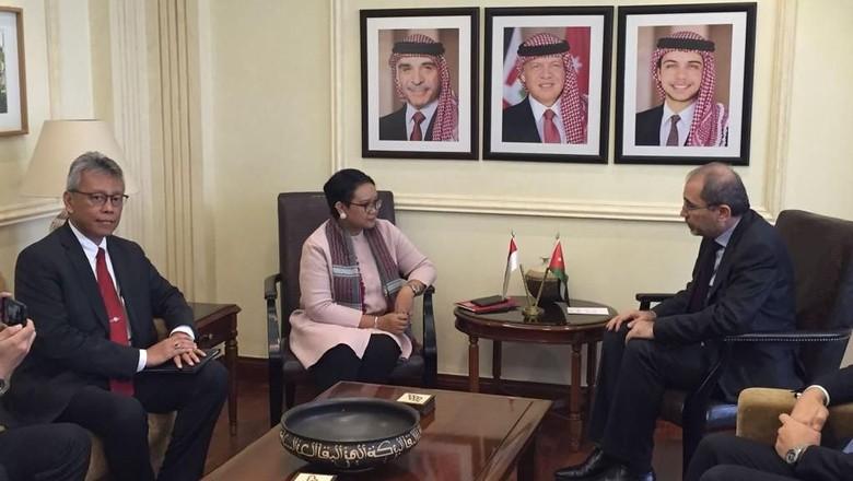 Menlu Ajak Yordania Perkuat Dukungan untuk Palestina di KTT OKI