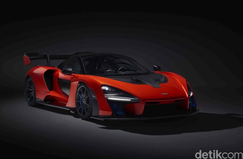 Mobil McLaren. Foto: Pool/McLaren