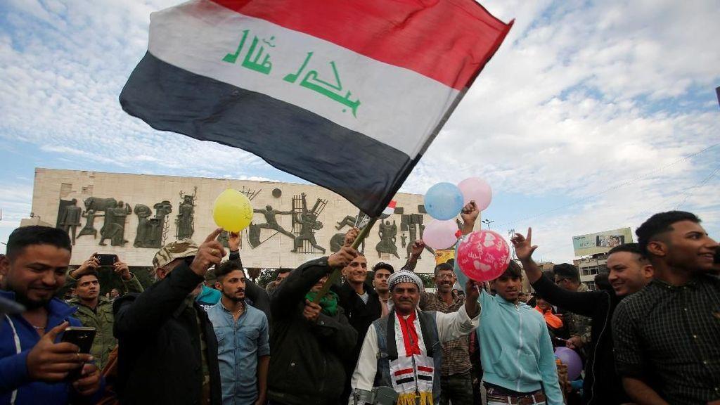 31 Tewas Dalam Aksi Demo di Irak, Termasuk 2 Anggota Polisi