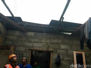 Puting Beliung Rusak 25 Rumah di Wonosobo, 1 Warga Luka Berat