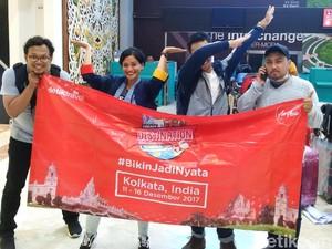 Pemenang Dream Destination Berangkat, Siap Jelajah India!