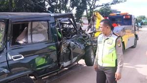 Sopir Mobil yang Kecelakaan di Tol Cawang Jadi Tersangka