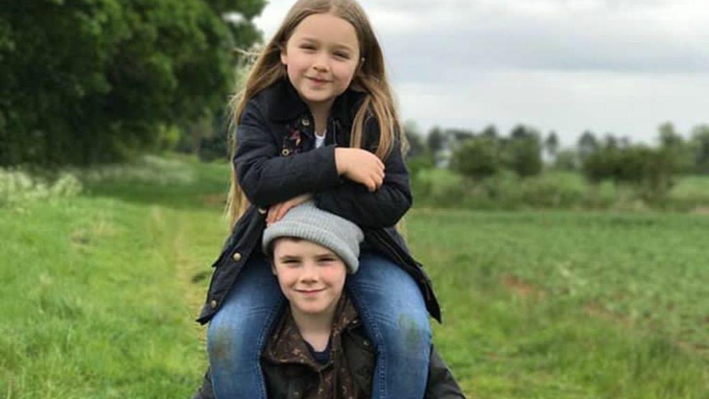 Keinginan Sederhana nan Manis Anak Bungsu David Beckham, Harper