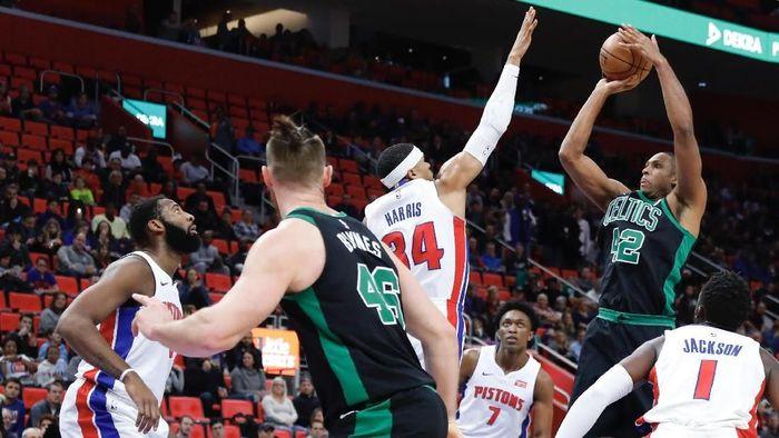 Boston Celtics menang 91-81 atas Detroit Pistons (Foto: Rick Osentoski-USA TODAY Sports)